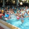 Jinja beader class groups enjoy swimming outing