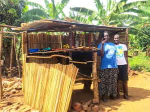 In uganda, small micro-loans help women expand their businesses like Doreen did with her grocery kiosk.