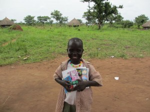 Happy sponsored child - Agwata group