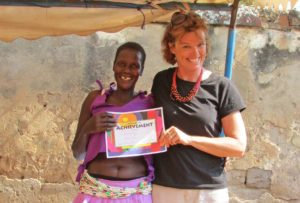 Mary found volunteering internationally was extremely rewarding.