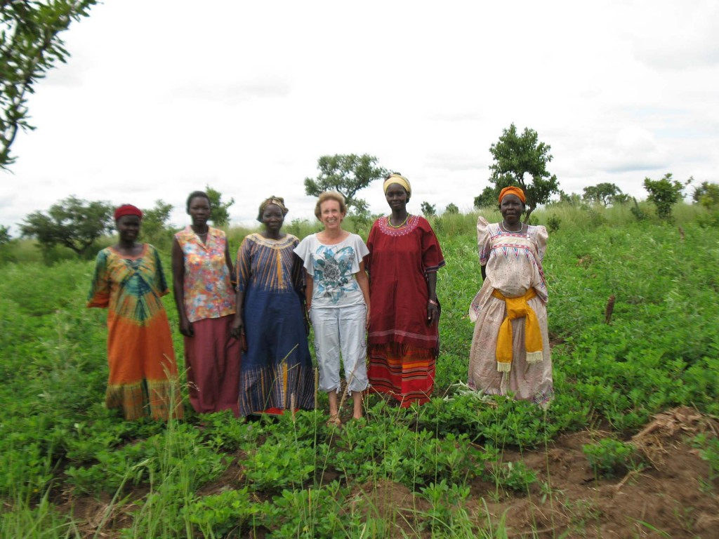 Carol and Kitgum Group Members at New Garden