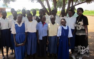 Layamo Agwata Girls in Lamwo Northern Uganda