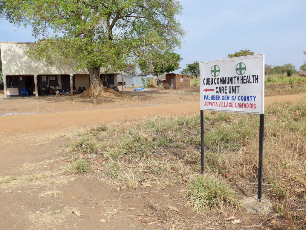 Agwata community clinic in Lamwo. A rural Africa clinic.