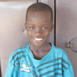Odiya, sponsored student, all smiles