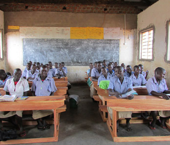 African School - Agwata Uganda has new desks for its classrooms!