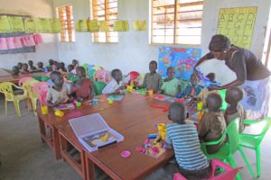 Northern Uganda pre-school children