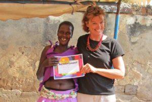Mary found volunteering internationally was extremely rewarding.