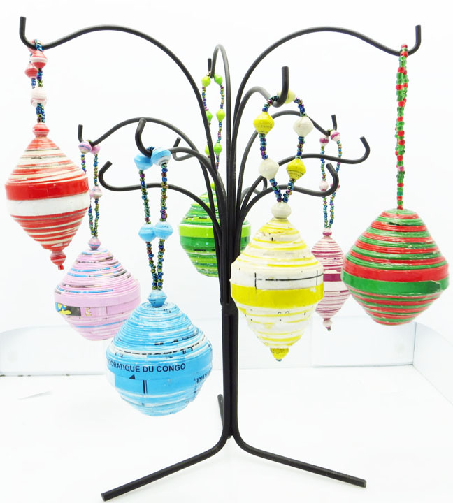 *Ornaments of Hope - Bulb Christmas ornaments*