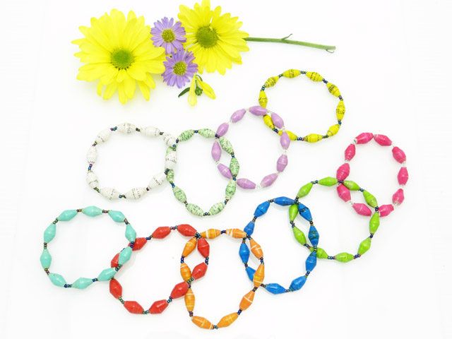 *Bracelet - assorted spring colors