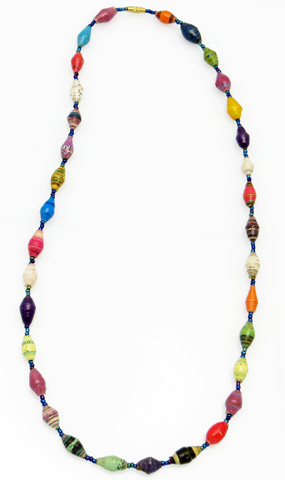 Multi-color necklace - medium