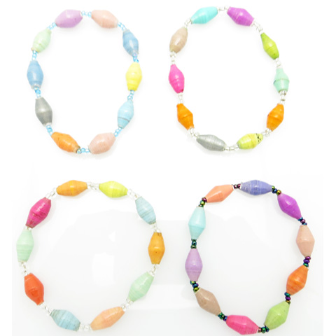 Bracelet - multi-color pastel