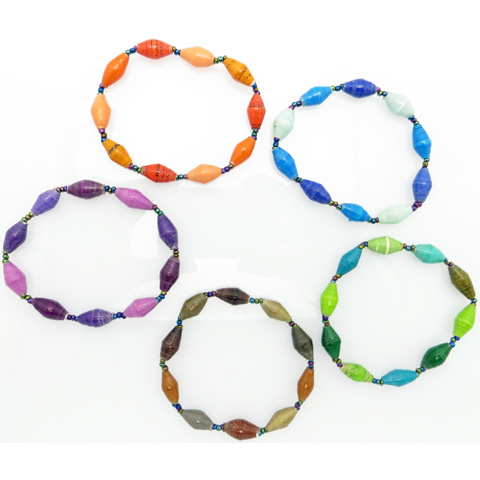 Bracelet - assorted wave colors