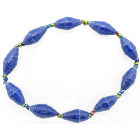 Bracelet - royal blue
