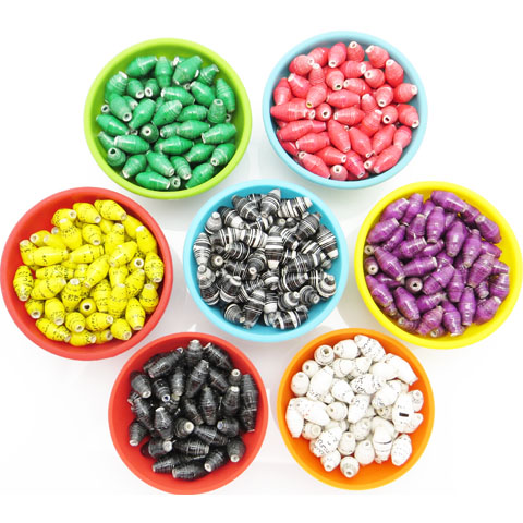 Large hole beads - matched packs
