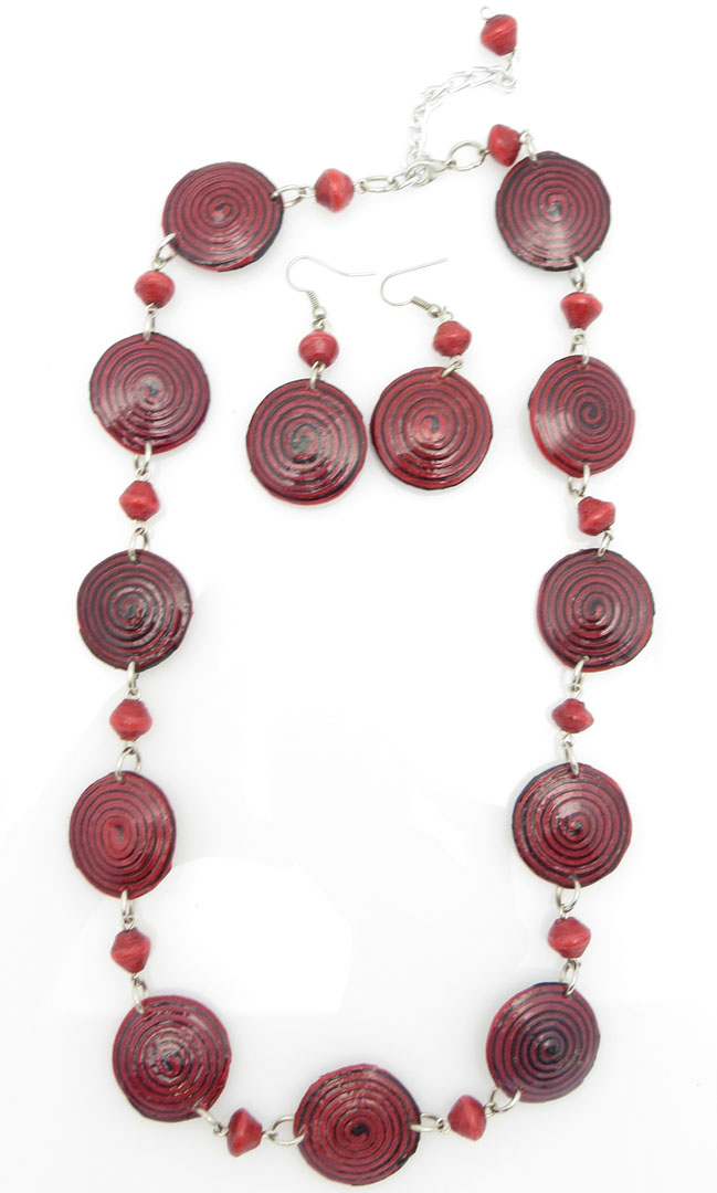 *Red spirals - matched set