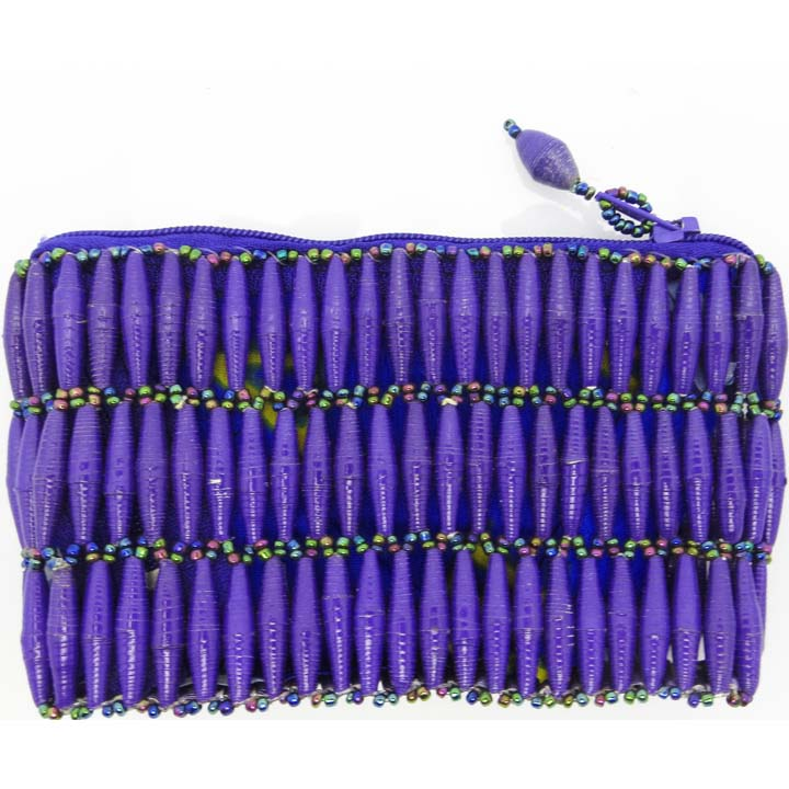 Coin purse - royal purple
