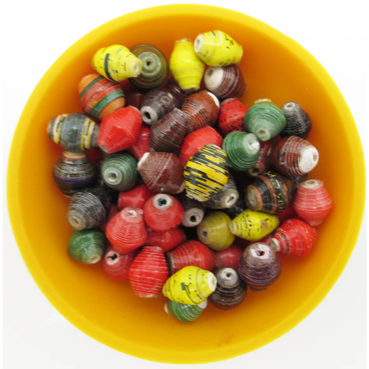 Mini cone beads - autumn splendor