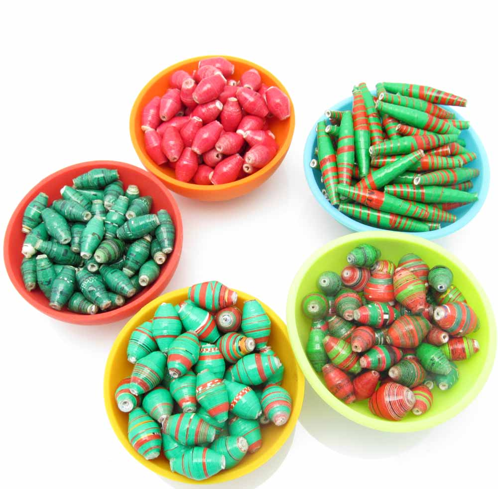 Christmas bead assortment