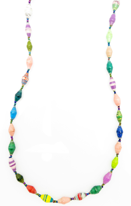 Multi-color necklace - regular length