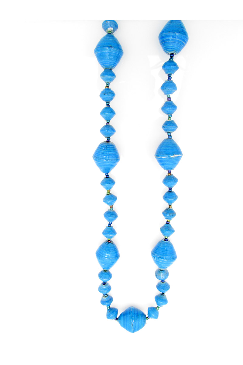 Turquoise gigantic bead necklace