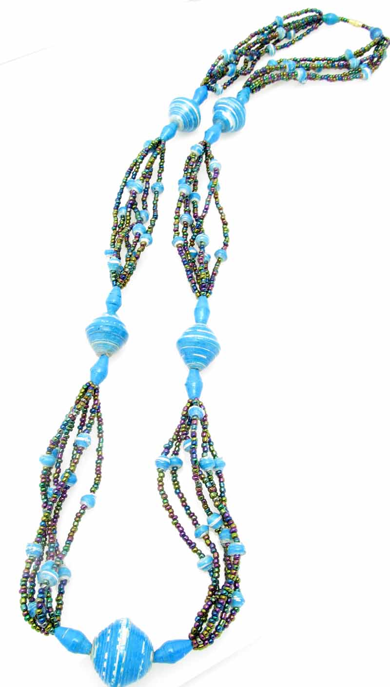 Cecilia's Specialty Necklace - in turquoise