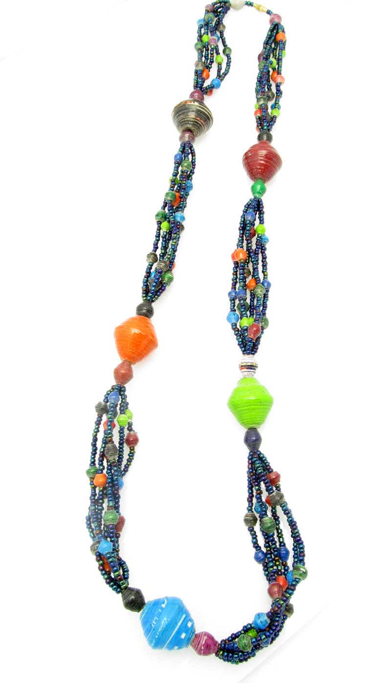 Cecilia's Specialty Necklace - in multi-color