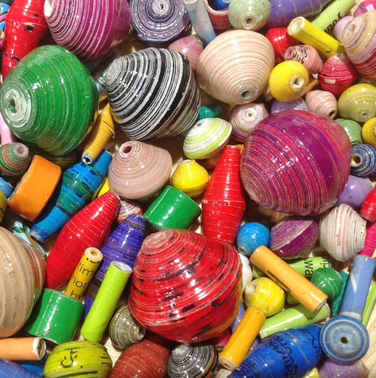 Specialized Paper Beads