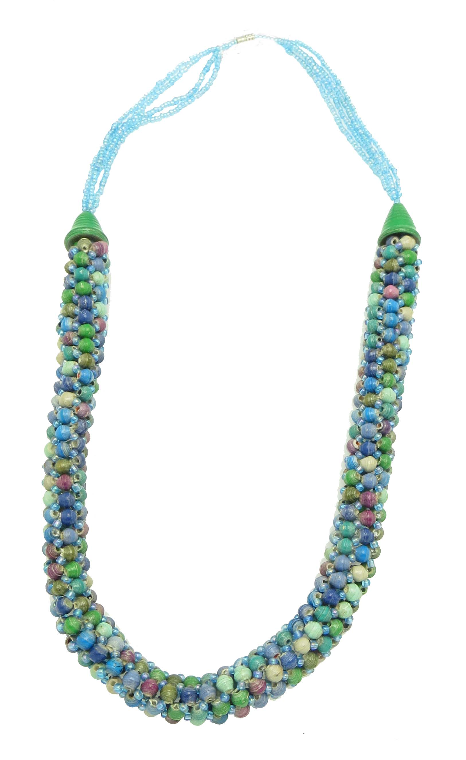 **Specialized watercolor tube necklace**