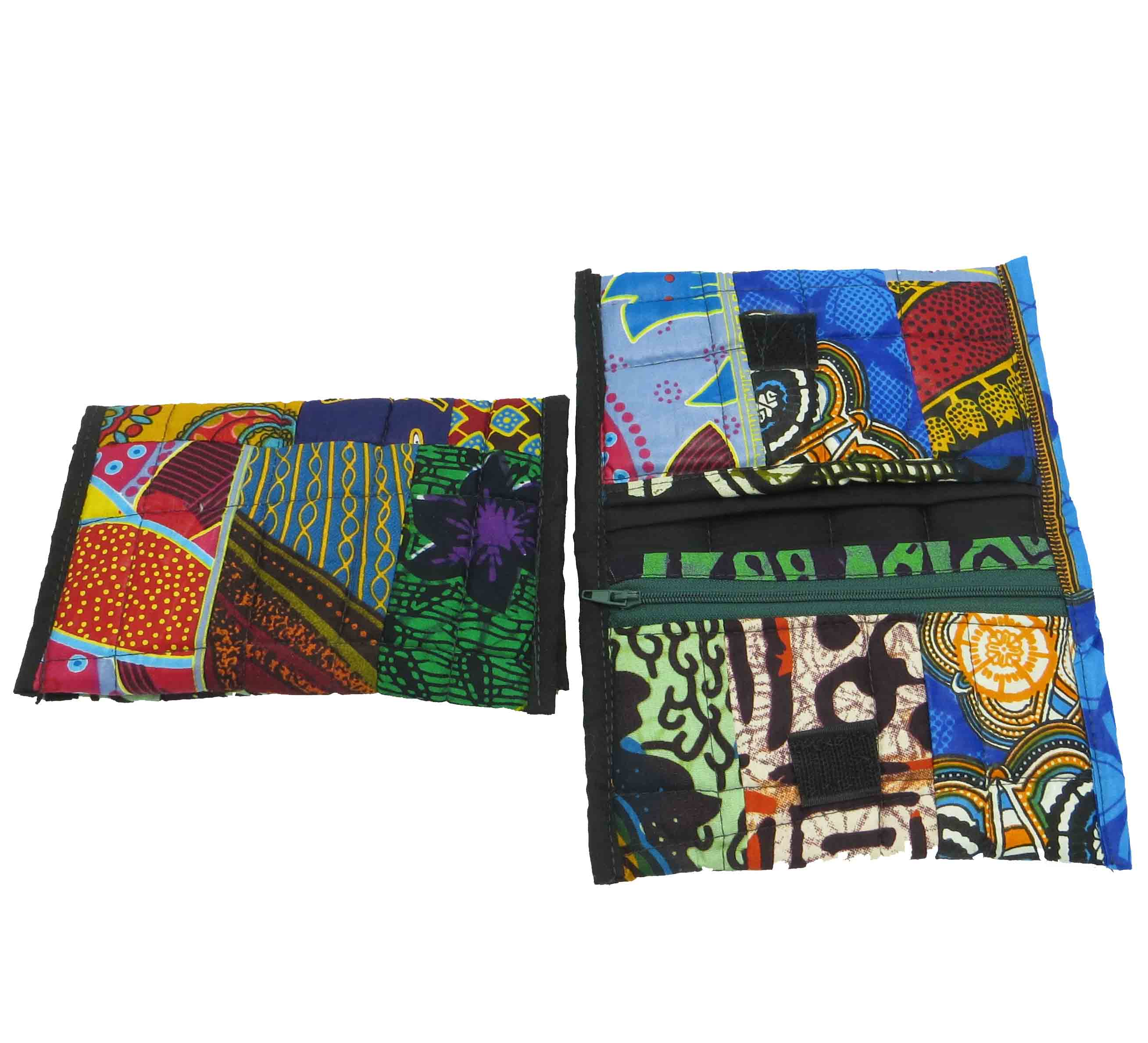 Cloth patchwork wallet