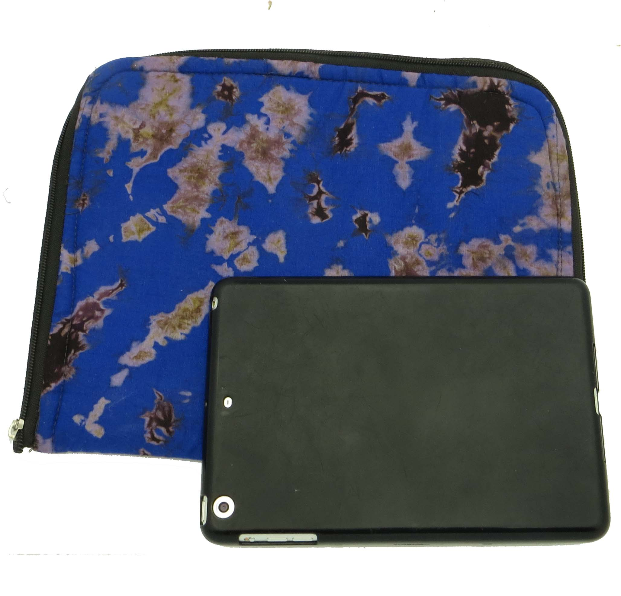 Cloth iPad bag - tie dye
