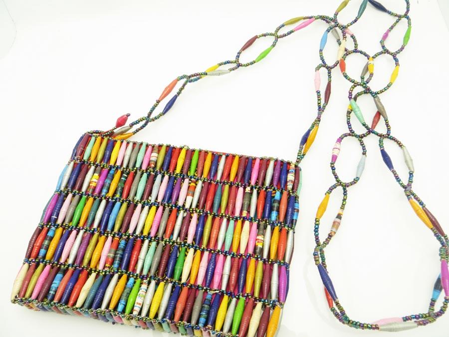 Beaded Purse Multicolor