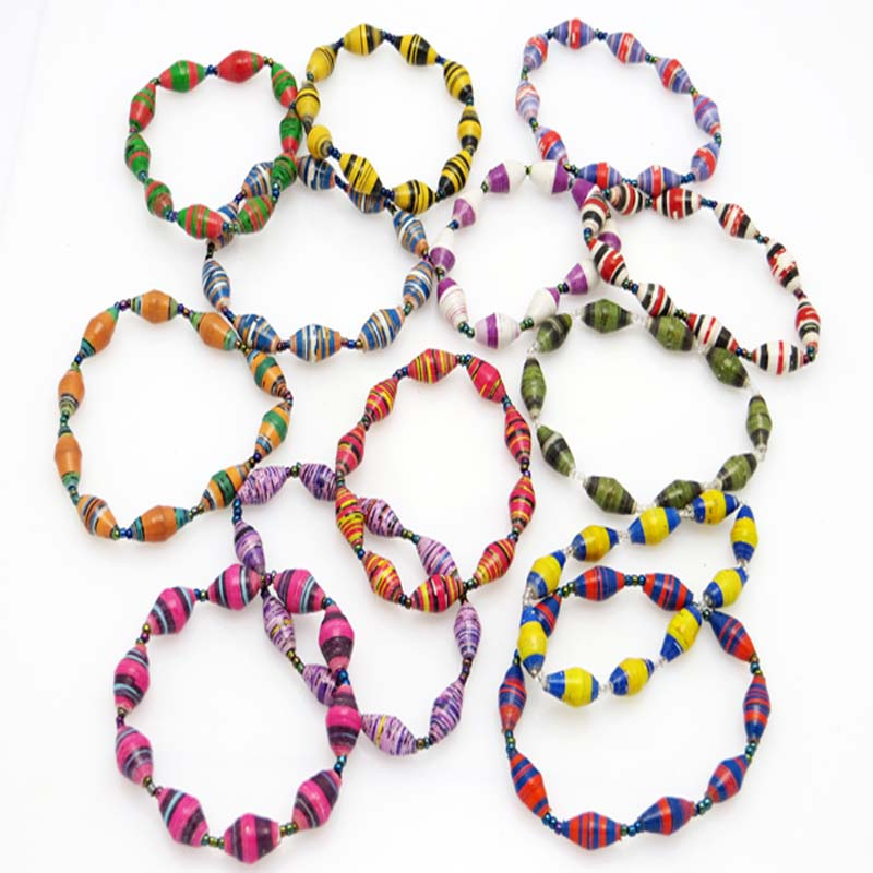 Bracelet - assorted striped
