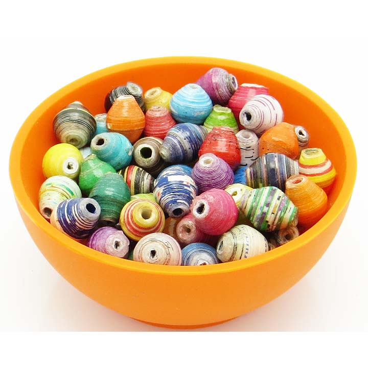 *Mini cone beads - multicolor*