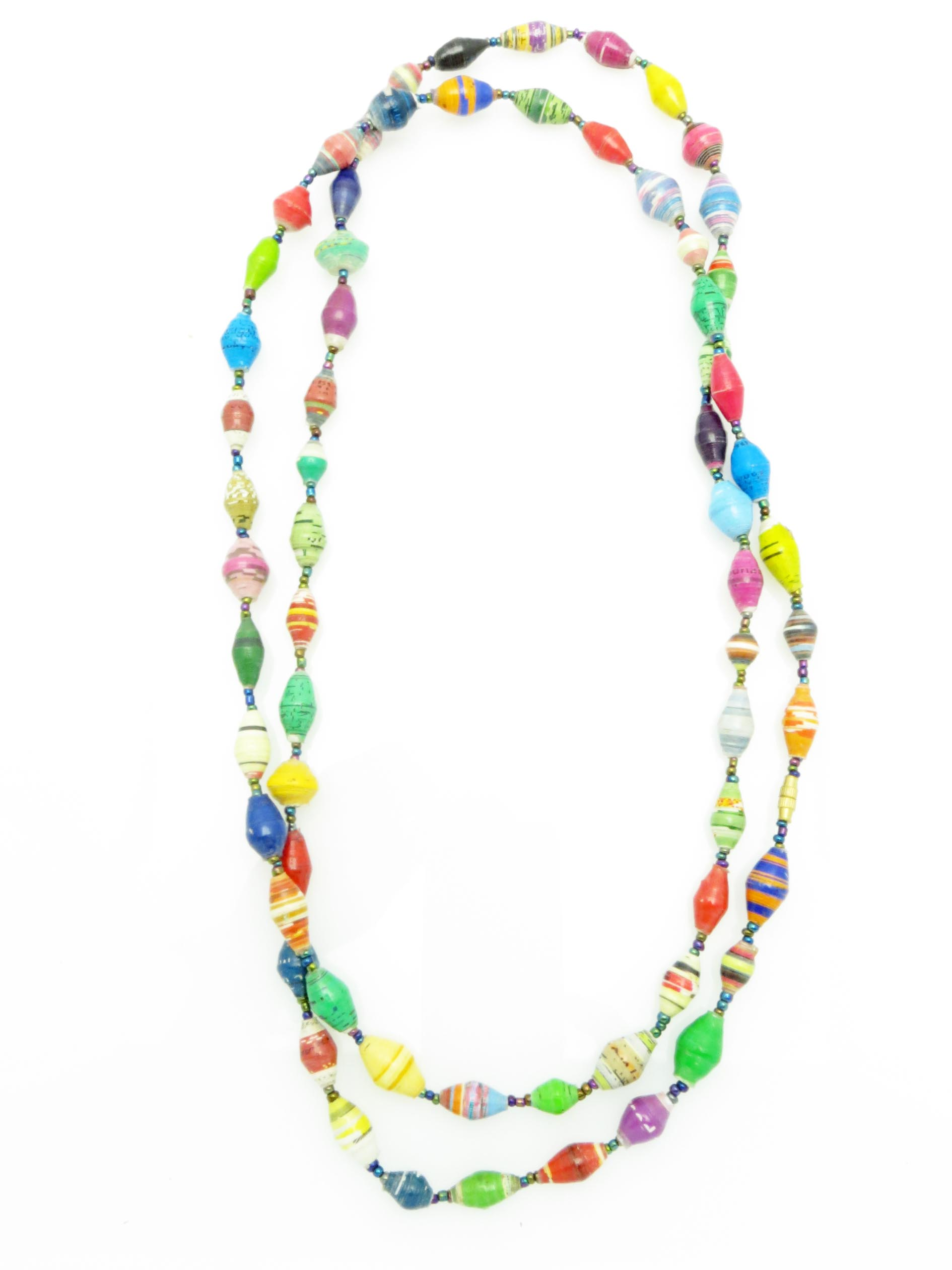 Multi-Color long necklace