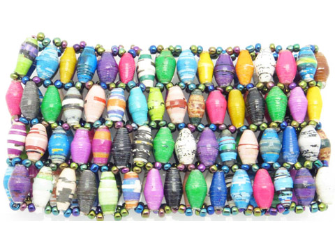 4-wide bracelet - multi-color