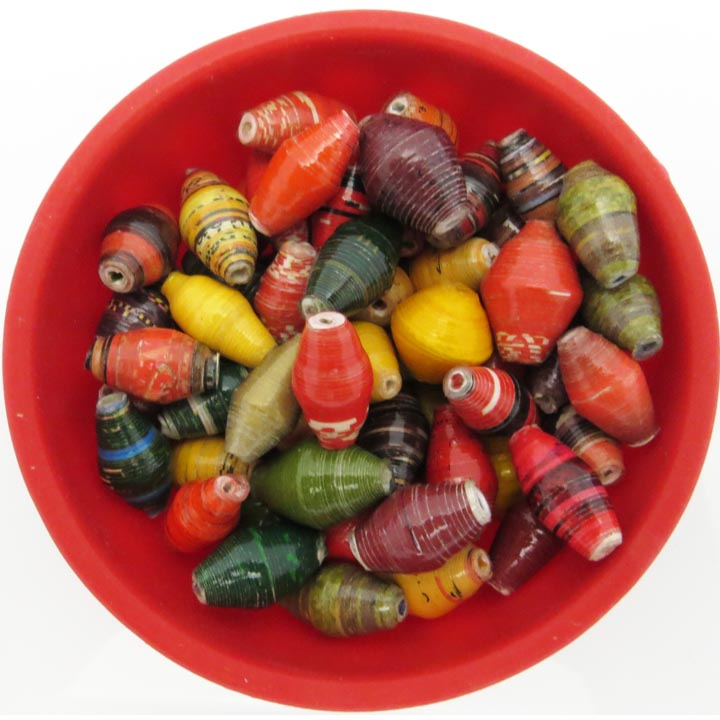 Multi-color autumn splendor beads