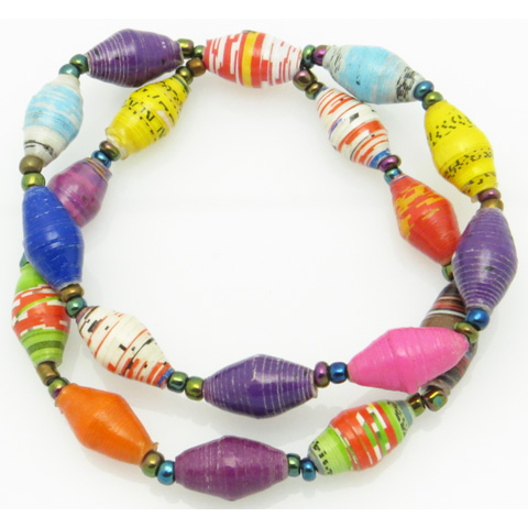 2-strand bracelet - multi-color