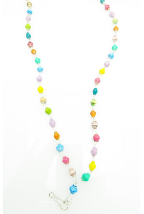 Lanyard - multi-color pastel