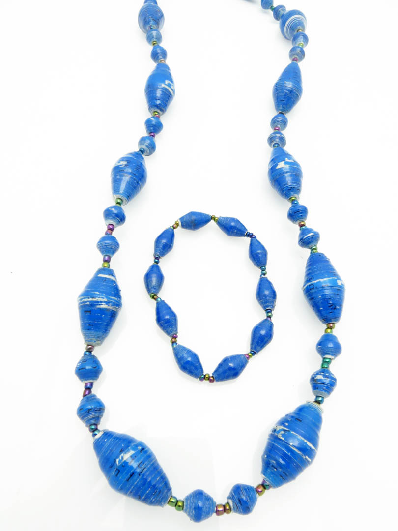Blue oval 2 pc set
