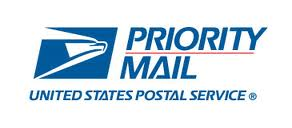 USPS Priority Mail Shipping (US only)