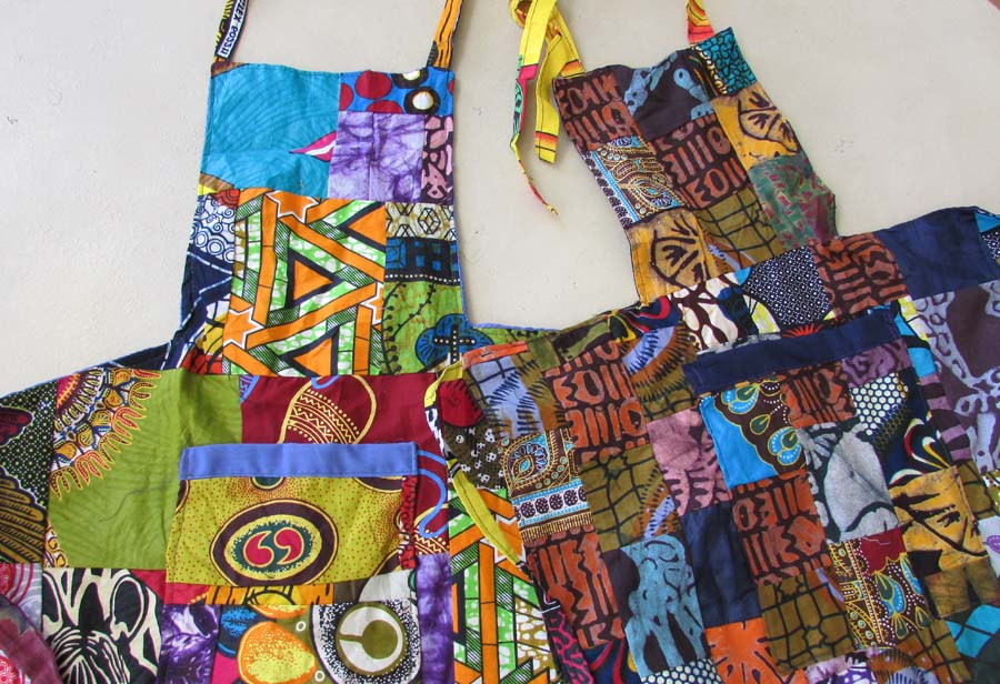 *Apron - Patchwork - Mom & Daughter